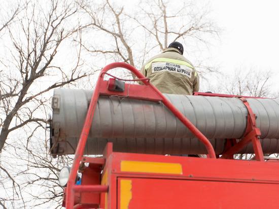 Среднеахтубинская пожарно-химическая станция готова к тушению лесных возгораний