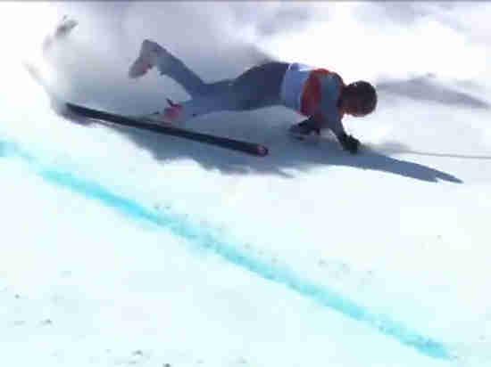 Россия потеряла единственного горнолыжника: Трихичев упал и попал в больницу