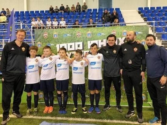 В Тамбове тренеры ЦСКА приступили к четырехдневному мастер-классу для юных футболистов