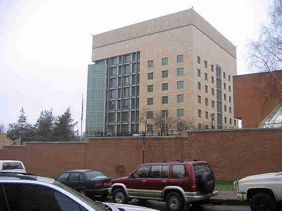 В посольстве США не обрадовались перспективе оказаться в
