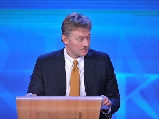 Песков: никакого инцидента с вертолетом Путина не было