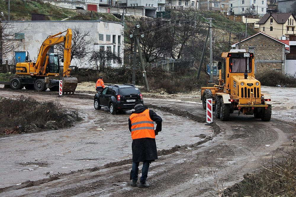 В Севастополе ведут масштабную реконструкцию городских артерий и инфраструктурных объектов