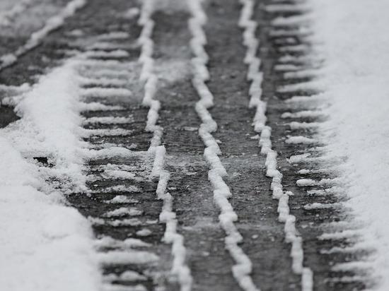 В Орловской области КамАЗ сбил пешехода