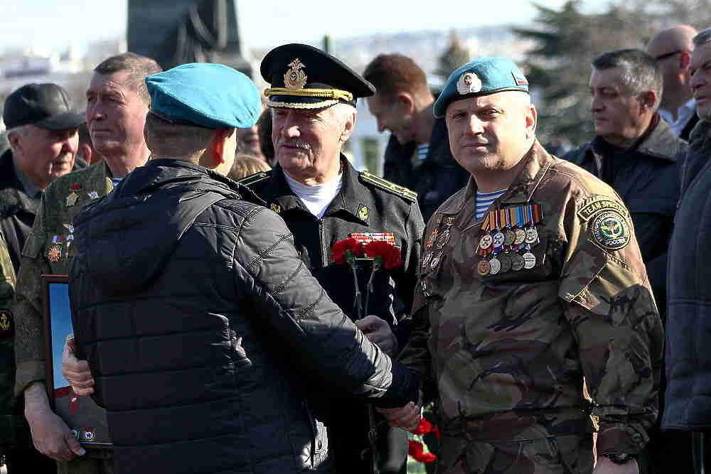 Как в Севастополе вспоминали воинов-афганцев