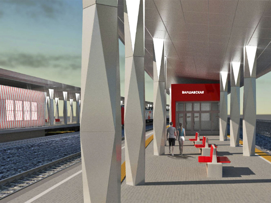 Красный квадрат и множество стрелок: утвержден проект станции Варшавская