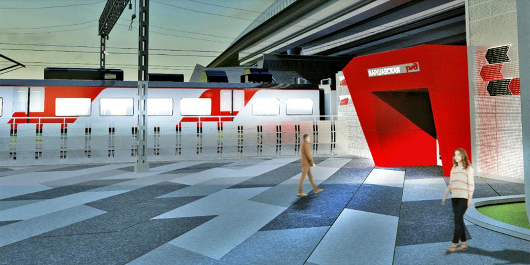 Вестибюль железнодорожной станции Варшавская оформят встиле авангард