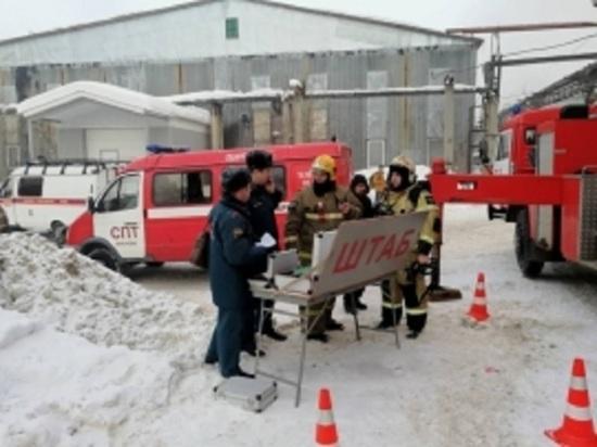В Иванове СК начал проверку по факту гибели человека в пожаре производственном цехе