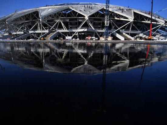 Виталий Мутко проинспектировал ход строительства стадиона «Самара Арена»: проблемы устранены