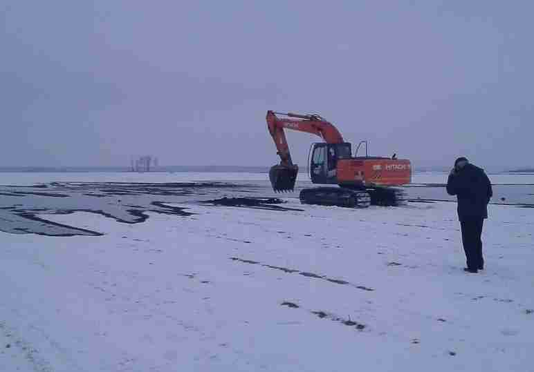 ВИвановском районе произошла утечка нефти