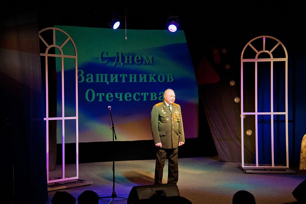 Волгоградцы отметили День защитника Отечества на праздничном концерте