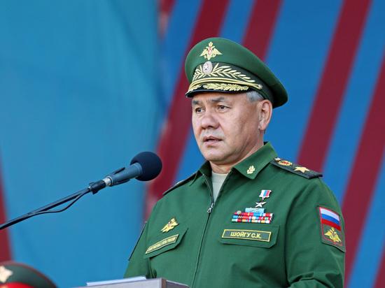 Шойгу поведал, как увеличилась интенсивность боевой подготовки войскРФ
