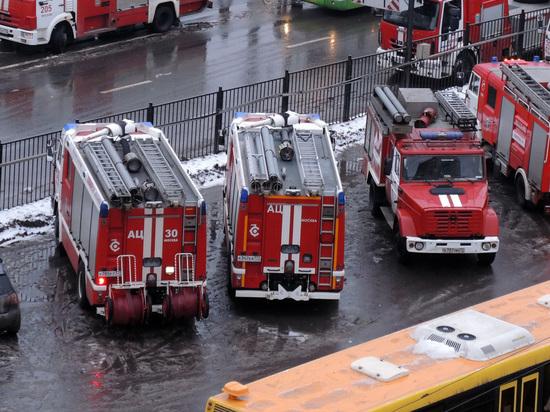 В столицеРФ два сотрудника МЧС погибли, спасая детей напожаре