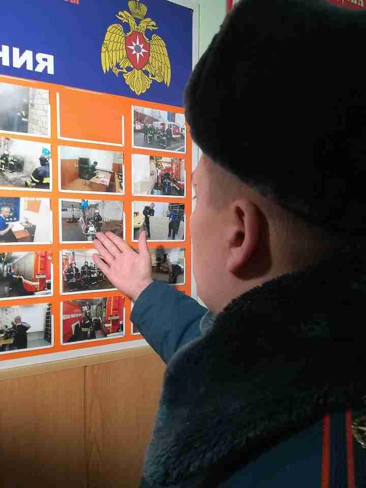 Секс в российской пожарной части видео онлайн