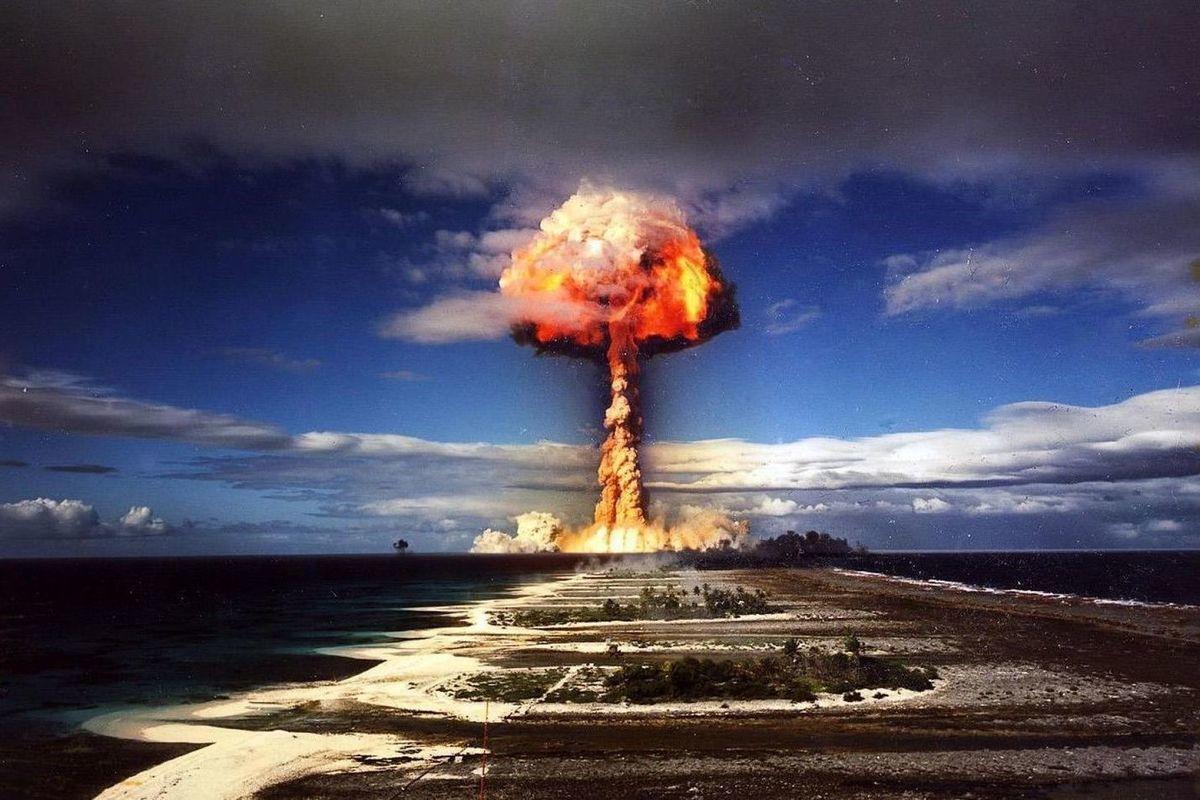 ядерный удар по москве