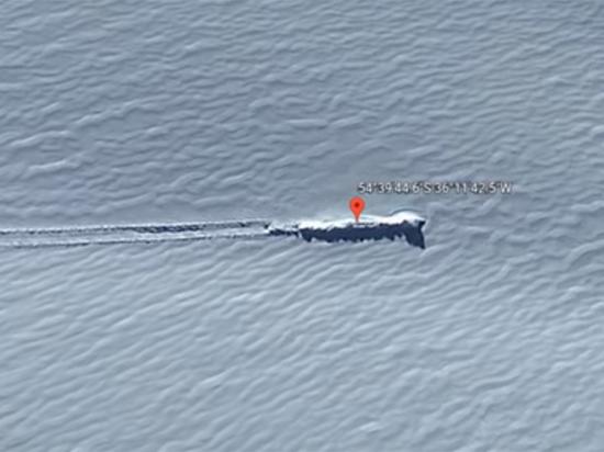Сервис Google Maps помог отыскать вЕгипте базу инопланетян