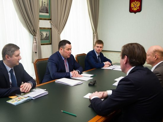 В Тверской области обсудили строительство аквапарка