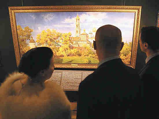 В «Царицыно» открылась юбилейная выставка Сергея Андрияки
