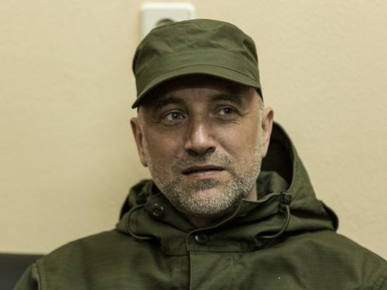 Нижегородский писатель Захар Прилепин дал интервью АПН