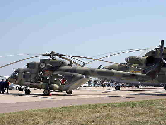 ВЧечне при крушении вертолета погранслужбы погибли поменьшей мере  5-ти  человек