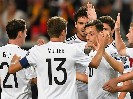 Немецкие футболисты отказались бойкотировать ЧМ-2018 в России