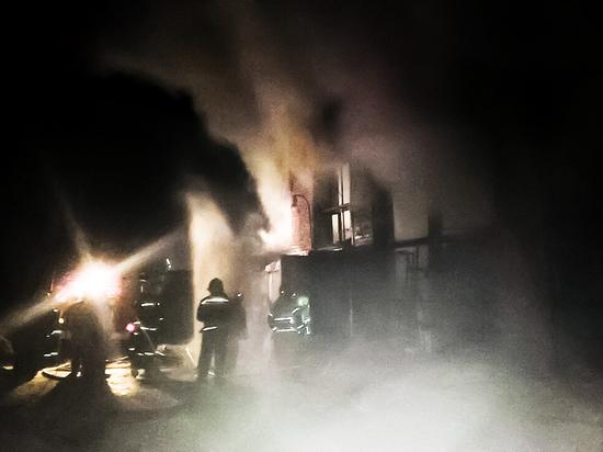 В Омске ночью горела котельная, есть пострадавшие