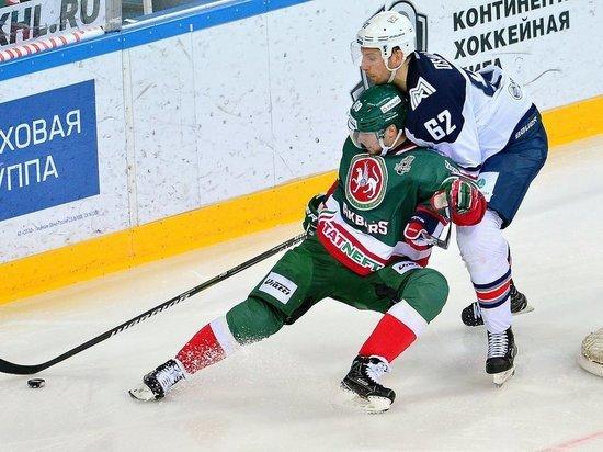 Данис Зарипов забил – «Ак Барс» выиграл у «Металлурга» в плей-офф