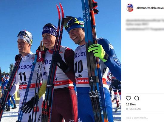 """Лыжник Александр Большунов: """"Планы? Сбежать от вас"""""""