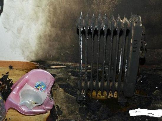 Из-за обогревателя в отключенной от электричества квартире едва не сгорел дом