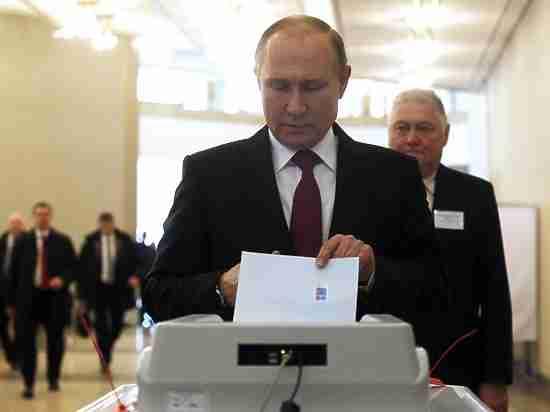 Путин рассказал, какой процент голосов будет считать для себя успешным