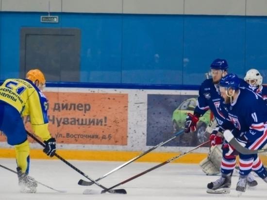 ХК «Чебоксары» впервые вышла вполуфинал Кубка Федерации