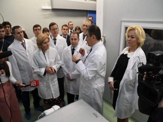 Ольга Голодец посетила школу в Южном городе