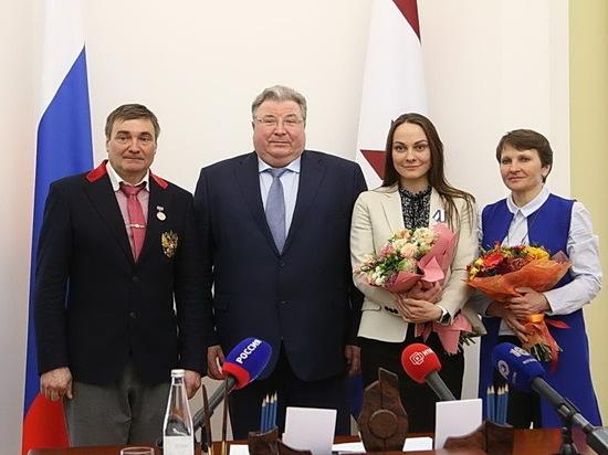 В Мордовии наградили единственного призера Олимпиады-2018 из республики