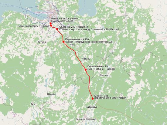 Стоимость проезда по трассе М11 от Москвы до Петербурга составит около 2 тысяч рублей