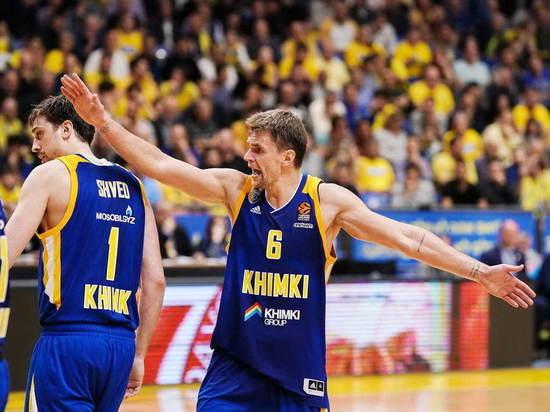 Евролига. 20 очков Шведа неспасли «Химки» отразгрома отЦСКА