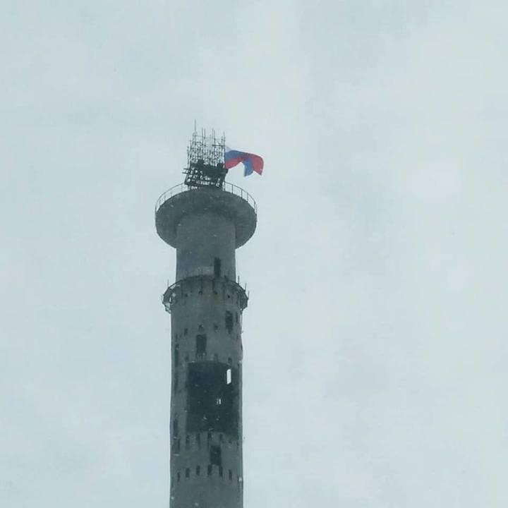 В Екатеринбурге «захватили» недостроенную телебашню