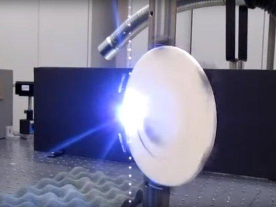 Военные США показали навидео работу акустической лазерной пушки