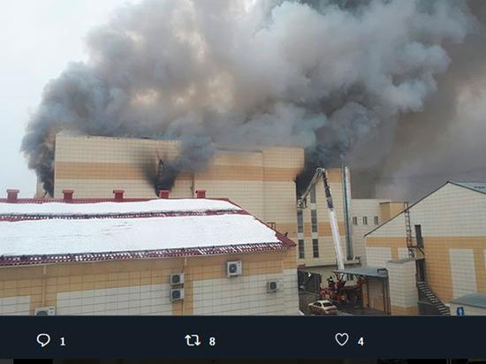 Пожар в ТЦ Кемерово: племянника Тулеева выбросили из окна