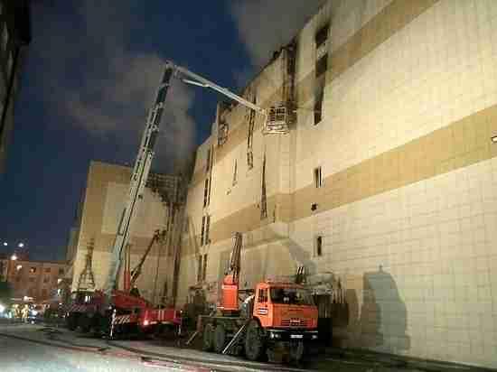 Пожар в Кемерово: охранник отключил сигнализацию, аварийные выходы были заблокированы