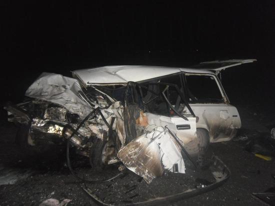 В страшной аварии в Тамбовской области погиб водитель, трое в больнице