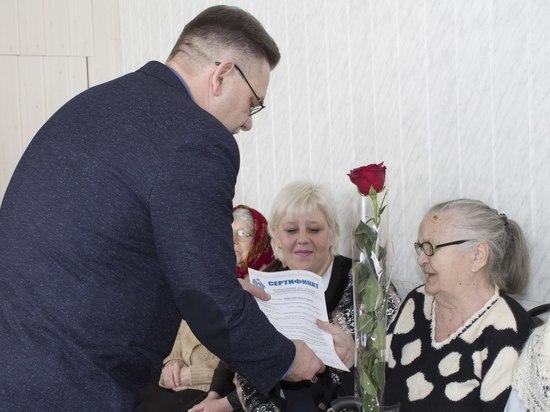 Более 50 ветеранов ВОВ в Тамбовской области получат сертификаты на жилье