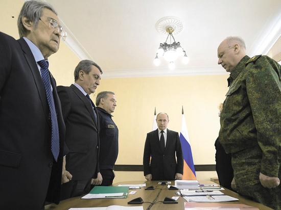 Путин отказался от личной встречи с Тулеевым