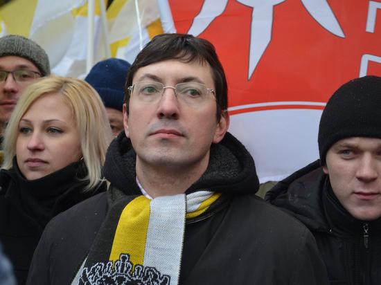Националисту Поткину смягчили наказание иотпустили насвободу