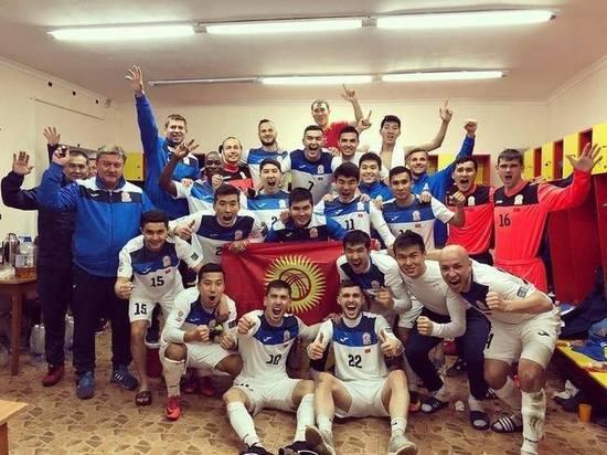 Футболисты Кыргызстана одержали победу над сборной Индии