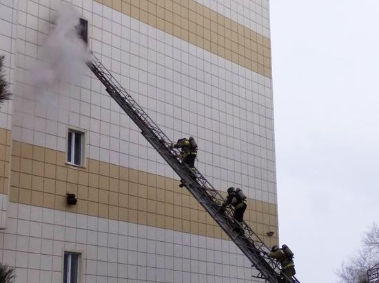 Московские пожарные: