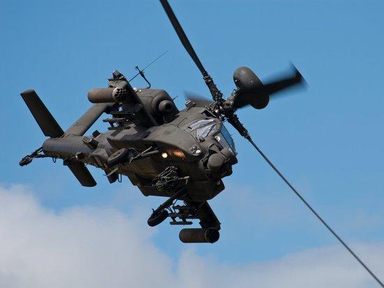 Что делает в правительстве Архангельской области американский армейский вертолёт?