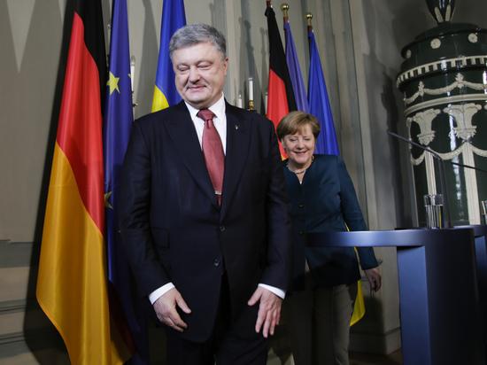 """Порошенко: Меркель и Макрон """"дожали"""" Путина до перемирия в Донбассе"""