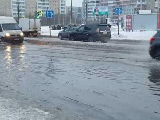 Городские власти предсказали, какие улицы Архангельска затопит во время таяния снега