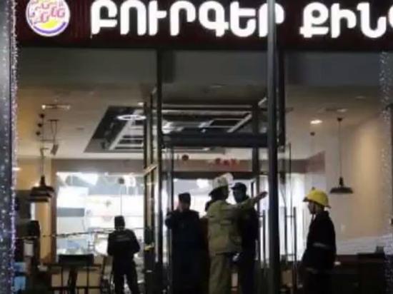 В центре Еревана произошел взрыв в ресторане: пострадали россияне