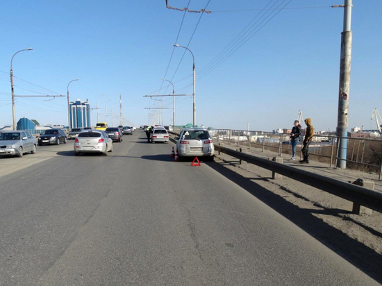 Девятнадцатилетняя астраханка сбила пешехода на Новом мосту