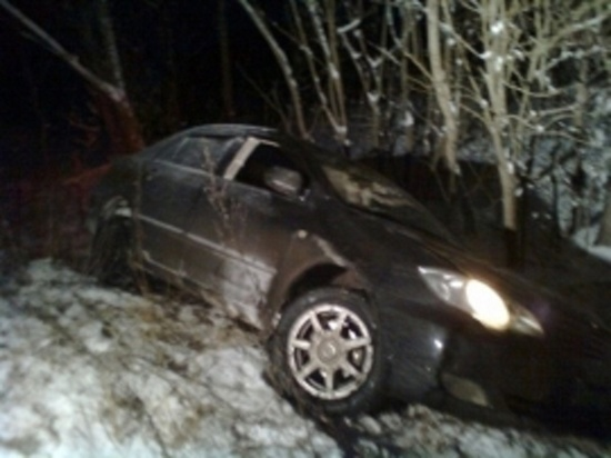 На трассе в Добмаровском районе разбился Chevrolet Lacetti